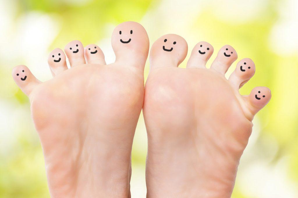 健康的な足