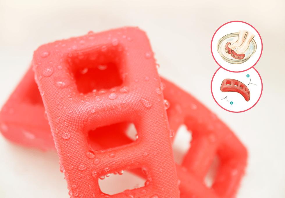 入浴時に使用した場合はさっと拭くだけなので衛生的に安心して使えます。