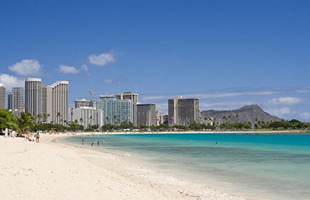 ハワイ風景写真1